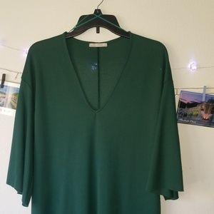 Short green dress 💚